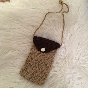 New! Boho Nation Knit Rectangle Purse